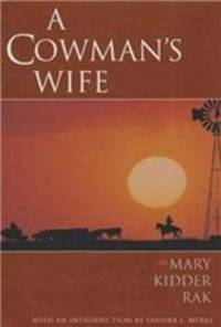 A Cowman's Wife (Degolyer Library Cowboy & Ranch Life Series)