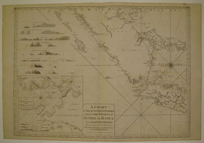 London: Laurie & Whittle, 1799. unbound. very good. Sea chart. Uncolored copper plate engraving. Ima...