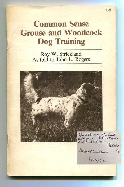 Rockford, Michigan: Roy Strickland, 1981. Staplebound. Very good. Third printing. Staplebound octavo...
