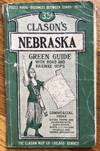 View Image 1 of 2 for Clason's Nebraska Green Guide with Road and Railway Maps Inventory #1098