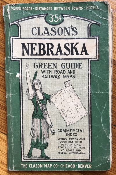 Denver: Clason Map Co, 1920. Good.. 31,pp. plus folding map, 21 x 28 inches. Original printed card c...