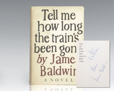 New York: The Dial Press, 1968. First edition of this major work by Baldwin. Octavo, original half c...