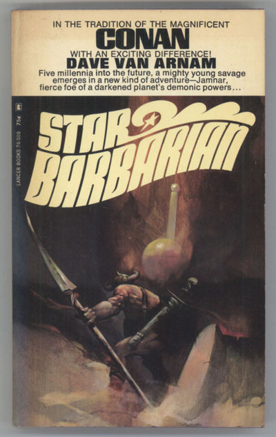 New York: Lancer Books, 1969. Small octavo, pictorial wrappers. First edition. Lancer Books 74-509. ...