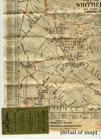 Map of Whittier and Vicinity and Road Map of Southern California.