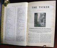 The Ticker; Volume 1, Nos. 1-6: November 1907- April 1908 by  Richard D. (Editor) Wycoff - First edition - 1908 - from Royoung bookseller, Inc. and Biblio.com