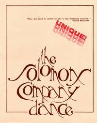 The Solomons Company Dance [1985 PRESS KIT]