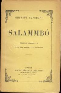 SALAMMBO by Flaubert Gustave - Paperback - 1923 - from Libreria MarcoPolo (SKU: 13220)