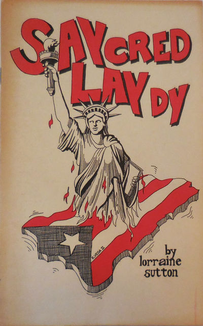 New York: Sunbury Press, 1975. First edition. Paperback. Very Good. Stapled wrappers. 32 pp poetry c...
