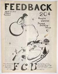 image of Feedback: vol. 1 no. 1 (April 27, 1970)