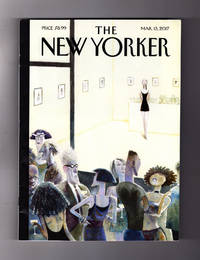 """The New Yorker - March 13, 2017. New Underground Railway; Jack White; Trump's Worst Deal; Catherine Opie Portraits; Jane Austen; Egyptian Satire; Beverly Hills Protest; Immigration Musical; Maggie Rogers; Sweeney Todd; Kong: Skull Island; Anne Enright fiction, """"Solstice"""""""