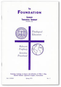 The Foundation, Vol. LXXVIII, no. 7, Spring, 1973