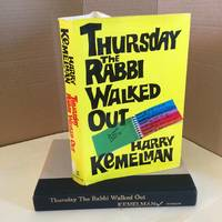 image of Thursday the Rabbi Walked Out