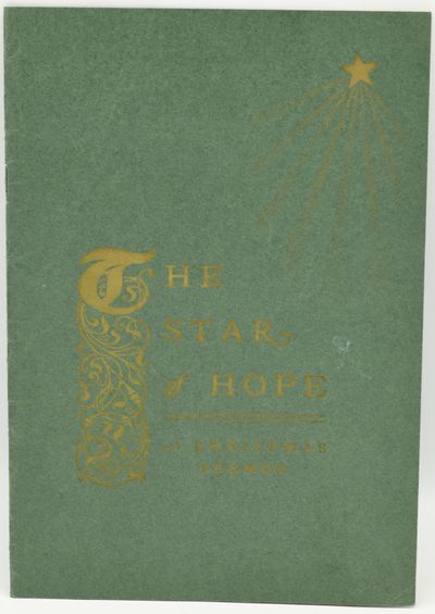 Worcester, Massachusetts: Published by the author, 1922. Stapled Pamphlet. Very Good binding. A self...