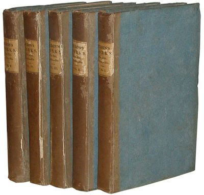 London: John Murray, 1823 Early edition. Five volumes. Original publisher's brown paper over blue pa...