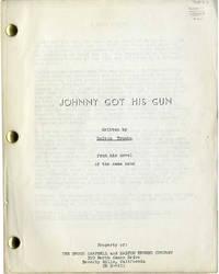 JOHNNY GOT HIS GUN (ca. 1968) Script