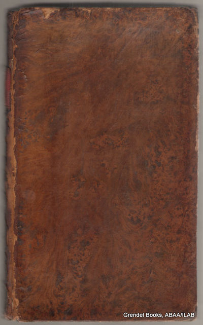 Worcester:: Isaiah Thomas, Jun.,. Good. 1812. Hardcover. First edition thus. Octavo, fully bound in ...