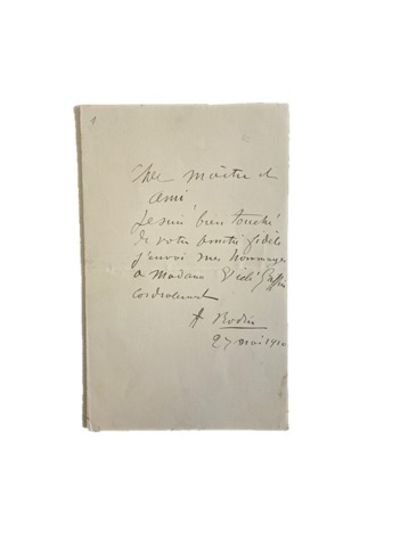 Rodin Writes a Letter to his Closest...