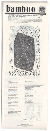 BAMBOO: A Bi-Weekly Format For Literature And Art. Nos. 1-26