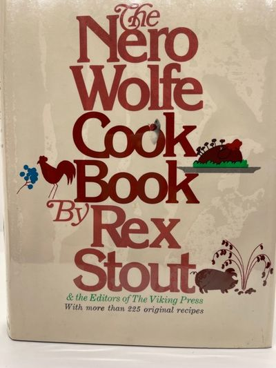 SIGNED 1ST THE NERO WOLFE COOKBOOK