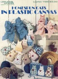 Homespun Cats in Plastic Canvas Leaflet 1185