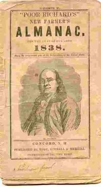 Poor Richard's New Farmer's Almanac...1838