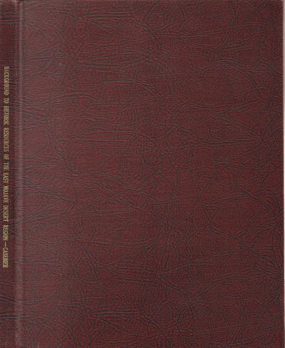 Very Good. 1976. Hardcover. Maroon and black boards with gilt title on spine; paginated 279-363. Par...