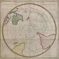 Carte de L'Hemisphere Austral; Montrant les Routes des Navigateurs les plus Celebres par le Capitaine Jacques Cook