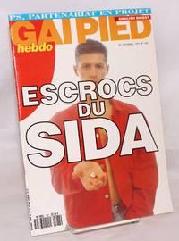 Gai pied hebdo no. 487 du 26 Septembre au 2 Octobre 1991  English digest; Escrocs du SIDA