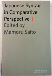 image of Japanese Syntax in Comparative Perspective (Oxford Studies in Comparative Syntax)