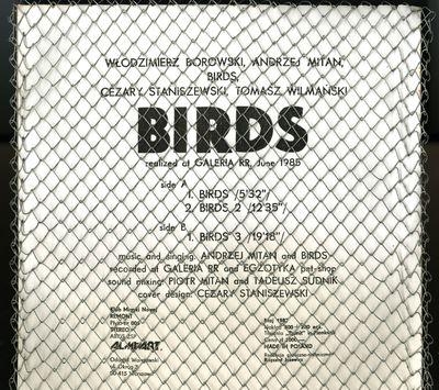 Ptaki. Birds, realized at Galeria RR,...