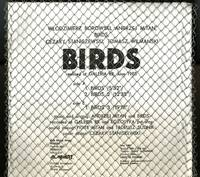 Ptaki. Birds, realized at Galeria RR, June 1985 [12-inch vinyl LP record in pasteboard sleeve and wire mesh covering,