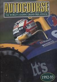 Autocourse 1992/93 - The World's Leading Grand Prix Annual