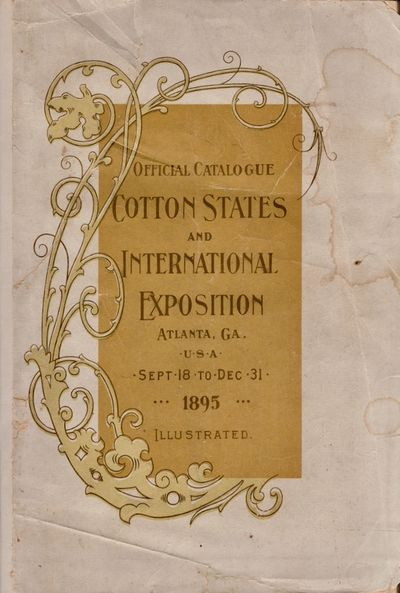 Atlanta: Clafin & Mellichamp, Publishers, 1895. First Edition. Wraps. Fair. Wraps. 266 pages, 20 pag...