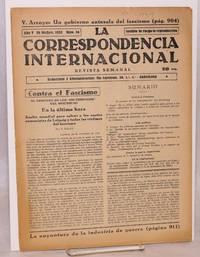 image of La Correspondencia internacional; revista semanal, año V, num. 56, 29 Dicbre. 1933