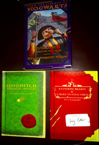 FROM THE LIBRARY OF HOGARTS QUIDDITCH THROUGH THE AGES/ KENNILWORTHY WHISP