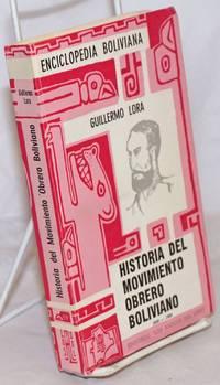 image of Historia del movimiento obrero Boliviano, 1848-1900