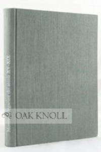 Genova: Comune di Genova, 1976. cloth. Bookbinding. 8vo. cloth. 143, (3) pages; 60 plates. Catalogue...