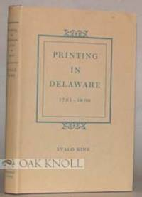 Wilmington: Eleutherian Mills Historical Library, 1969. cloth, dust jacket. Delaware. 8vo. cloth, du...