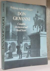 Don Giovanni: [''dramma giocoso'' in two acts]: complete orchestral and vocal score