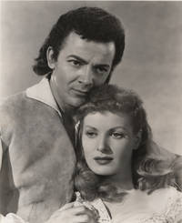 image of Original Portrait of Cornell Wilde and Maureen O'Hara from Sons Of The Musketeers