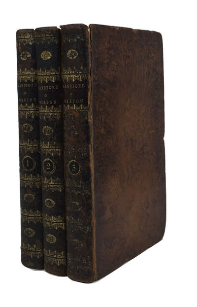 London: John Stockdale, 1798. Eighth Edition. Hardcover. Good. frontises (one in each volume), portr...