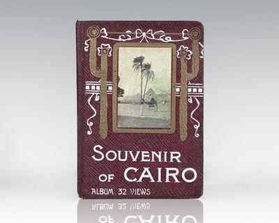 Cairo, Egypt: Cairo Postcard Trust, c. 1920. Accordion-fold album of photographic views, showing lan...