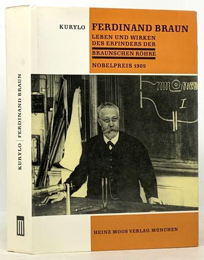 Munchen: Heinz Moos Verlag, 1965. Orange cloth binding with black stamping. White & orange dust jack...