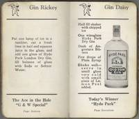 [A.B.C. of Mixing Cocktails (cover title)] Distillers for Nearly a Century. Gooderham & Worts Limited: The Oldest Firm of Whiskey Distillers in Canada