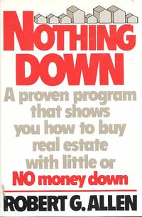 Nonthing Down by  Robert G Allen - Hardcover - Later Printing - 1980 - from Ye Old Bookworm (SKU: 9443)
