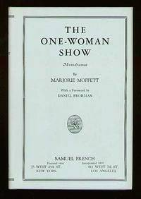 New York: Samuel French, 1943. Hardcover. Fine/Fine. Reprint. Small corner of front fly clipped, els...