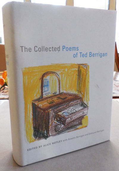 abaa the collected poems of ted berrigan by berrigan ted edited