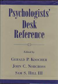 Psychologists\' Desk Reference