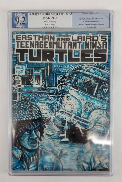 Dover, NH: Mirage Studios, 1985. First edition, first printing. Comic book; Professionally graded by...