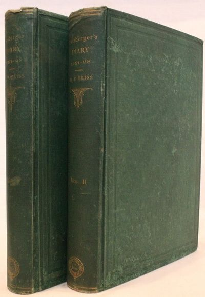 2 volumes +464 pages; +535 pages with index. Royal octavo (9 1/2